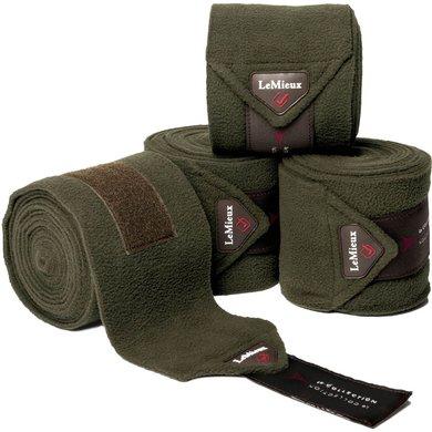 LeMieux Bandagen Luxury Polo Oak Green L (Warmblut)