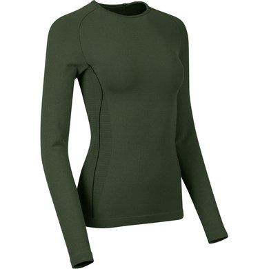 LeMieux Shirt Thermal Base Layer Oak Green XL