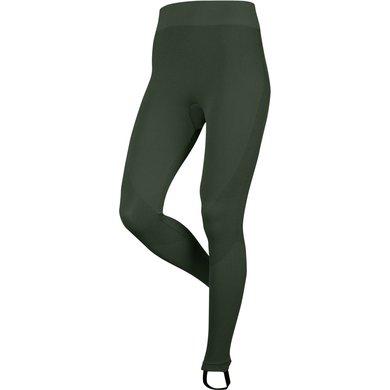LeMieux Leggings Thermal Oak Green XS