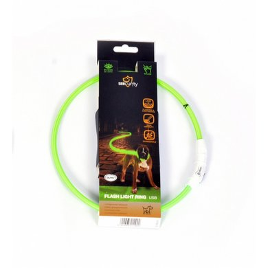 Duvo+ Ring Flash Licht Usb Nylon Groen