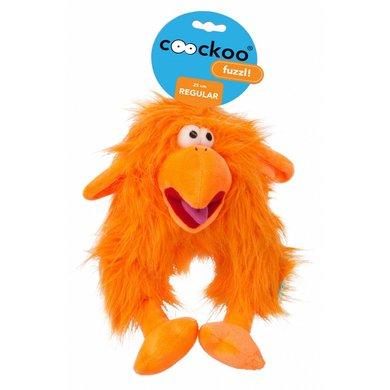 Coockoo Fuzzl Long Hair Plush Oranje 25x14cm