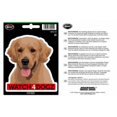 Duvo+ W4d Sticker Labrador Blond 15,2x11cm