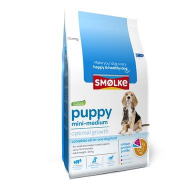 Smolke Hond Puppy Mini/Medium 12kg