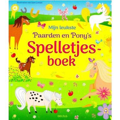 Mijn leukste paard & pony's spelletjesboek