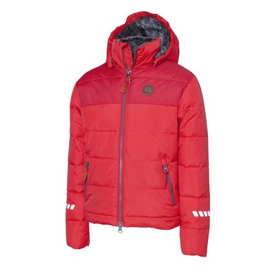 Mountain Horse Jas Robin Jacket Junior Helder Rood 160