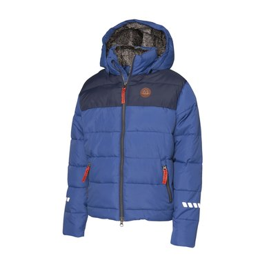 Mountain Horse Jas Robin Jacket Junior Kobalt Blauw 160
