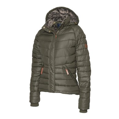 Mountain Horse Jas Noble Jacket Donker Olijf XXL