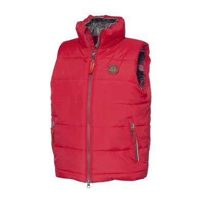 Mountain Horse Bodywarmer Robin Vest Junior Royal Rood 150