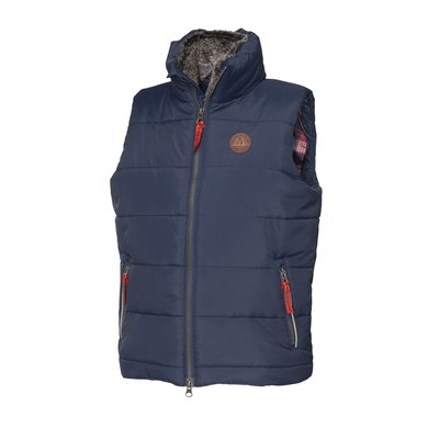 Mountain Horse Bodywarmer Robin Vest Junior DBlauw Bliss 130