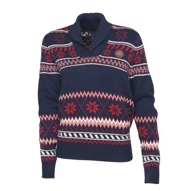 Mountain Horse Trui Iris Knitted Sweater Donkerblauw Bliss L