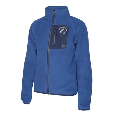 Mountain Horse Vest Milo Fleece Junior Kobalt Blauw 130