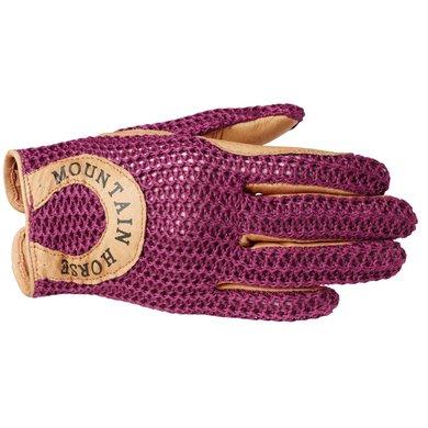 Mountain Horse Handschoen Crochet Ii Racey Pink XS