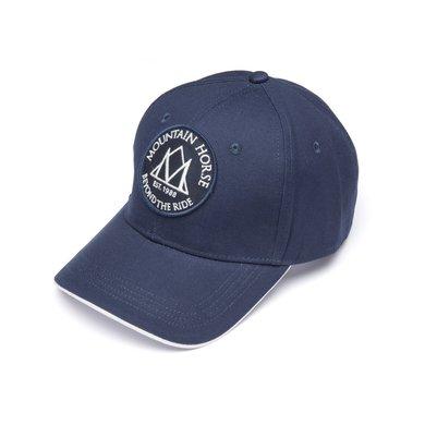 Mountain Horse Cap Logo Cap Donkerblauw One size