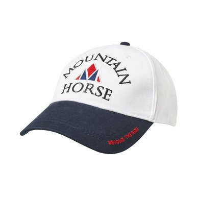 Mountain Horse Cap Event Cap Linen Wit One size