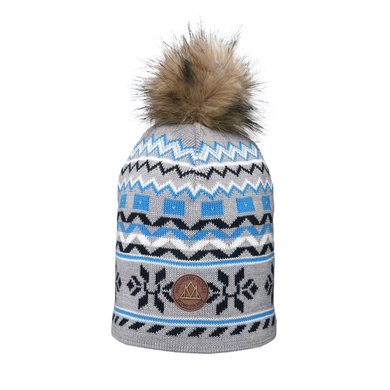 Mountain Horse Muts Iris Hat Junior Brilliant Grijs One size