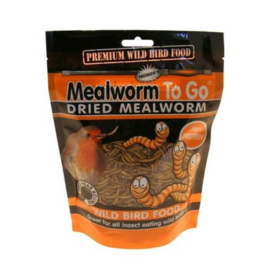 SuetToGo Dried Mealworms 100gr