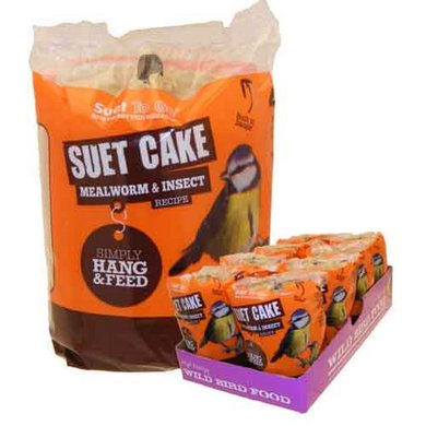 SuetToGo Suet Cake Mealworm & Insect 350gr