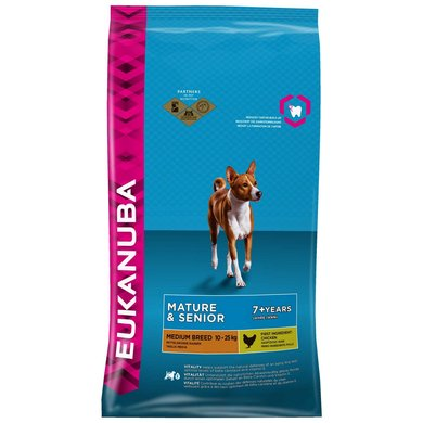 Eukanuba Dog Mature/Senior Medium Chicken 12kg