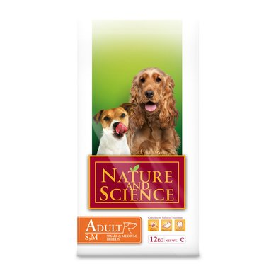 Nature&Science Dog Adult Small/Medium 12kg