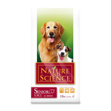 Nature&Science Dog Senior 12kg