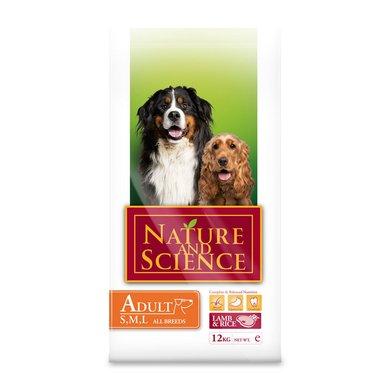 Nature&Science Dog Adult Lamb&Rice 12kg