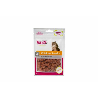 Truly Cat Snacks Chicken Anti-Hairball 50g