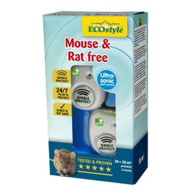 EcoStyle Mouse & Rat Free 30x2 30X2 2 x 30 m²/sound
