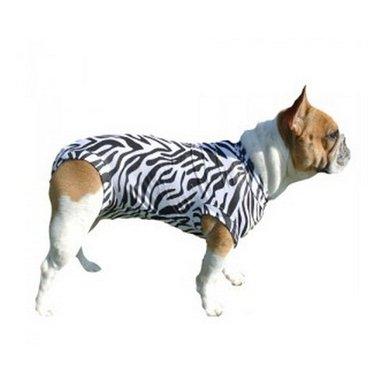 Medical Pet Shirt Hond Zebra