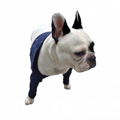 Medical Pet Shirt TAZ 2 Voorpootmouwtjes Hond Blauw
