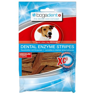 Bogar Bogadent Dental Enzyme Stripes Dog Medium 100gr