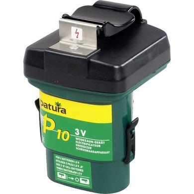 Patura P10 Weidezaun-Gerät für 2 Monozellen