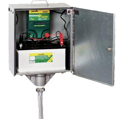 Patura Sicherheitsbox mit Verkabelung und Erdstab