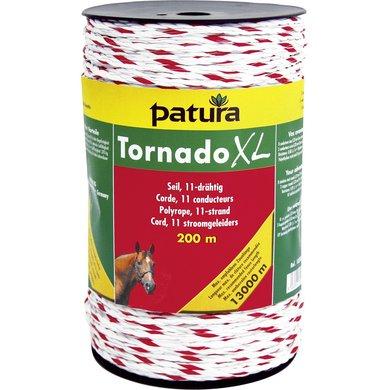 Patura Tornado XL Cord Wit/Rood 200m