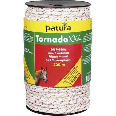 Patura Tornado XXL Cord Wit/Rood 200m