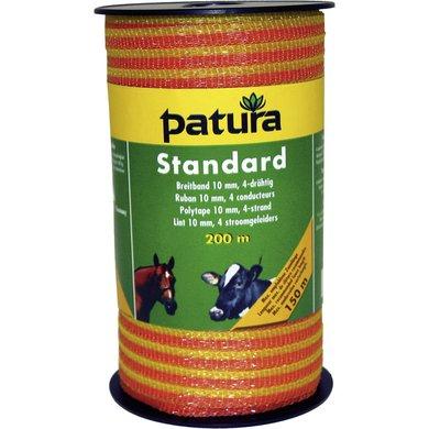 Patura Standaard Lint 10mm Geel/Oranje 200m