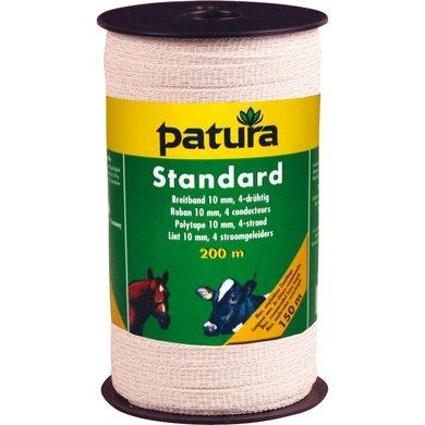 Patura Standaard Lint 10mm Wit 200m