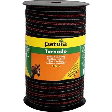 Patura Tornado Lint 20mm Bruin/Oranje 200m