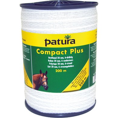 Patura Compact Plus Lint 20mm Wit 400m