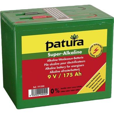 Patura Super Alkaline Batterij 9v/75ah
