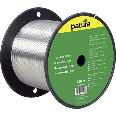 Patura Aluminium Draad 1,8mm 400m