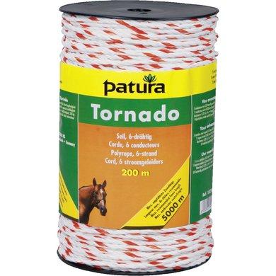 Patura Tornado Cord Wit/Oranje 500m