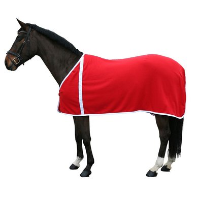 Pfiff Fleece Rug Red