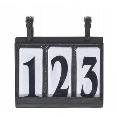 Pfiff Carriage Number Holder Black