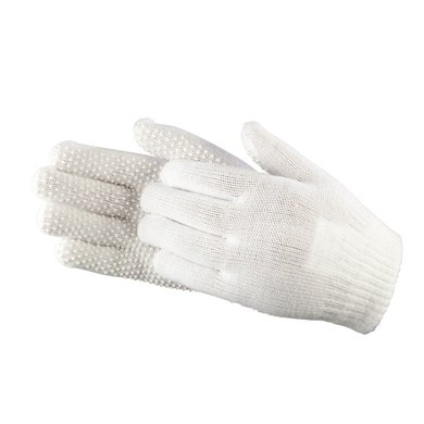 Pfiff Childrens Pimple Palm Gloves White