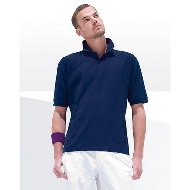 Pfiff Slijtvast Poloshirt Eenkleurig Wit XXL