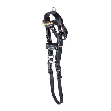 Pfiff Mini Bridle Black