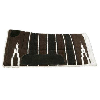 Pfiff Western Pad Maredo Bruin-Wit 75x75cm