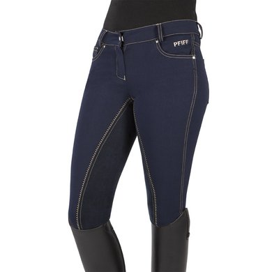 Pfiff Full Seat Breeches Kira Blue