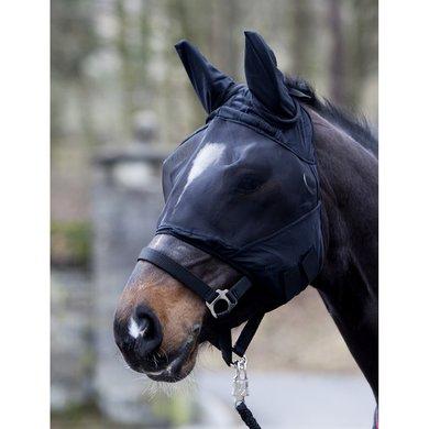 Pfiff Vliegenmasker Fleece Onderlegd Zwart