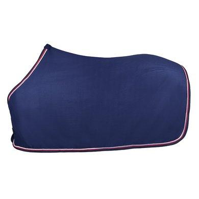 Pfiff Fleece Rug Pauline Blue/Pink